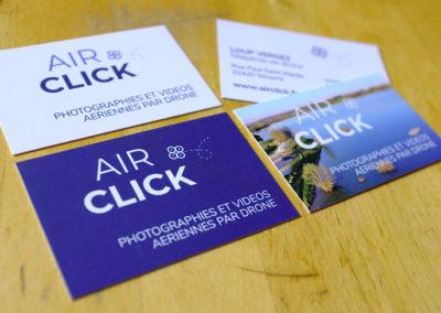 Cartes de visite Airclick