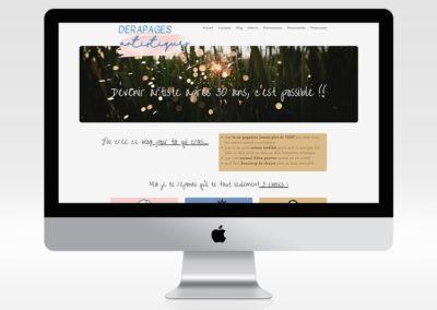 Site web Dérapages Artistiques