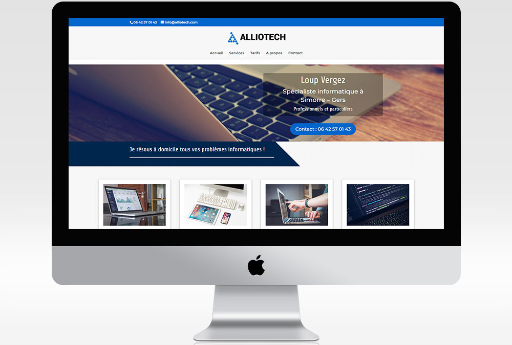 Site web Alliotech