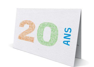 Carte de vœux Trigone 2020